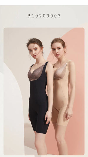 FinelyCup B9003: Body Series Full/Partial Body Shaping Bodysuit (sleeveless)