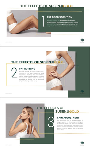 Susenji Gold Body Massage Gel