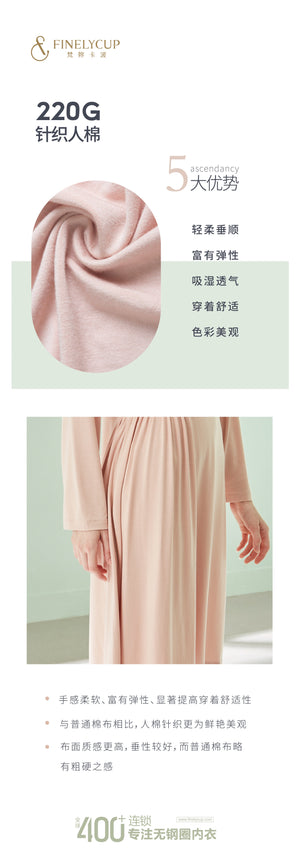 Finelycup Life L19208016: Elegant Pyjamas Dress