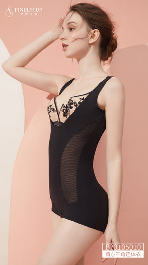 FinelyCup B20105010: Body Series Sleeveless Body Shaping Bodysuit - Seamless Beauty in Style 2.0