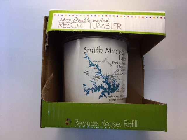 Smith Mountain Lake Plastic Tumbler