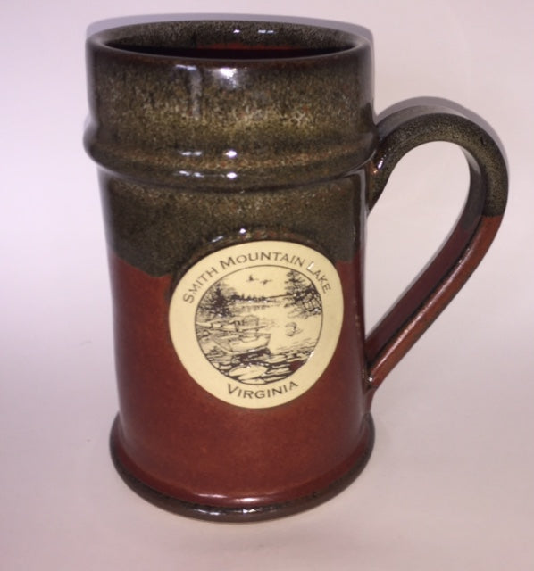 Smith Mountain Lake Pottery Beer Stein