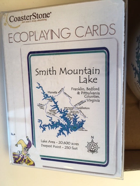 Smith Mountain Lake Playing Cards