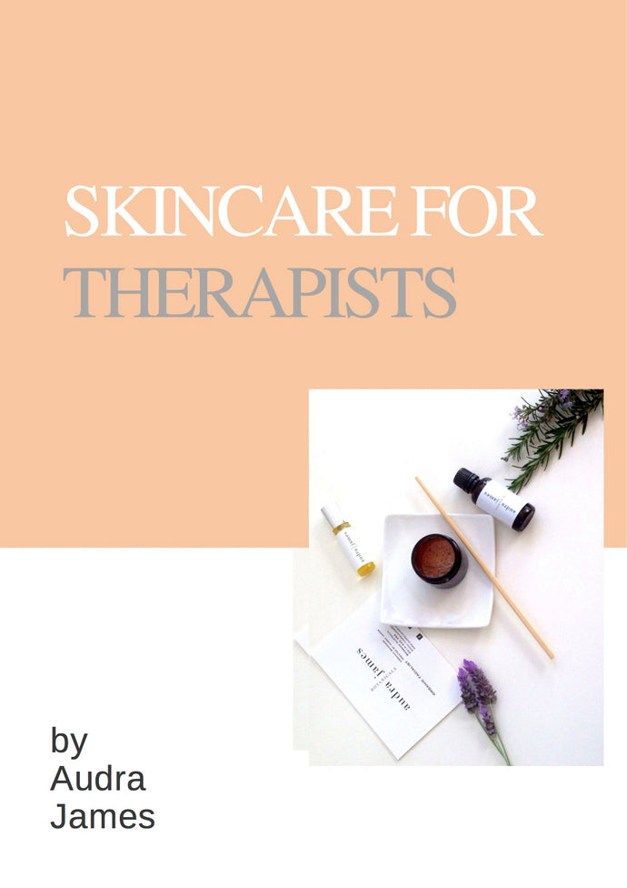 Skincare For Therapists Formulating Course