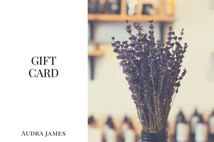 Audra James Gift Cards