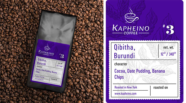 Qibitha, Burundi (Single Origin)
