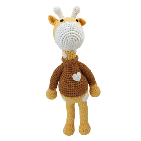 Cheengoo - George The Giraffe Crocheted Doll