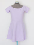 ASOS lilac short sleeve dress US8