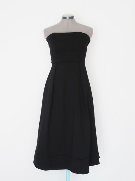 Urban Outfitters casual black strapless dress Medium