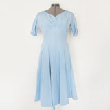 Vintage powder blue Elsa dress