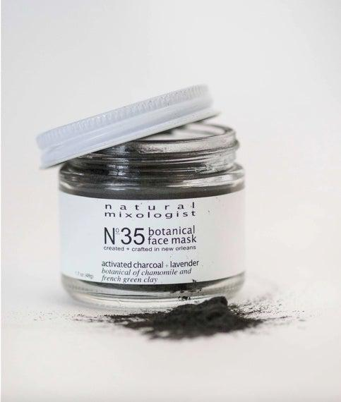 Botanical Charcoal Face Mask-Accessories-Three:Twelve
