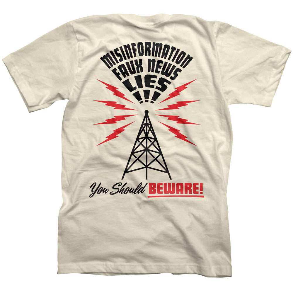 Beware Radio Tower Shirt
