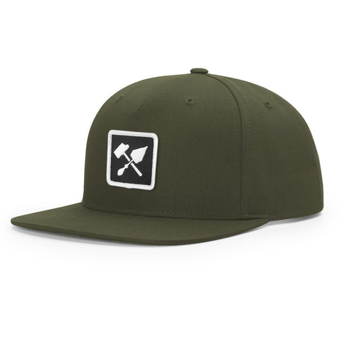 Bricks and Bombs Tools Snapback Loden