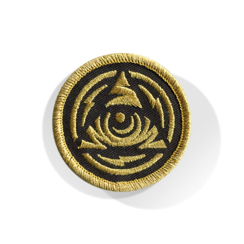 Icon Eye Seal Patch Black/Gold