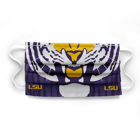 Mike the Tiger LSU Face Mask