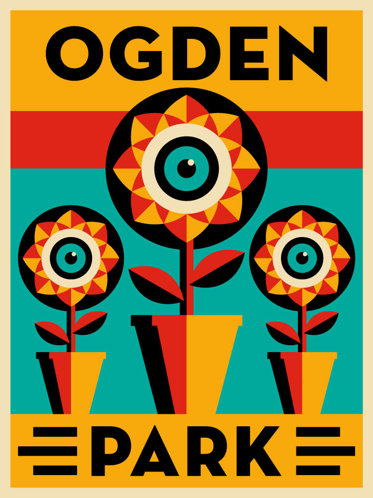 Ogden Park Neighborhood Poster