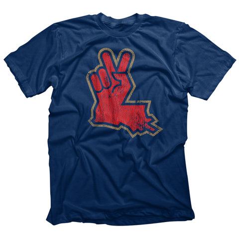 Louisiana Peace Hand Navy