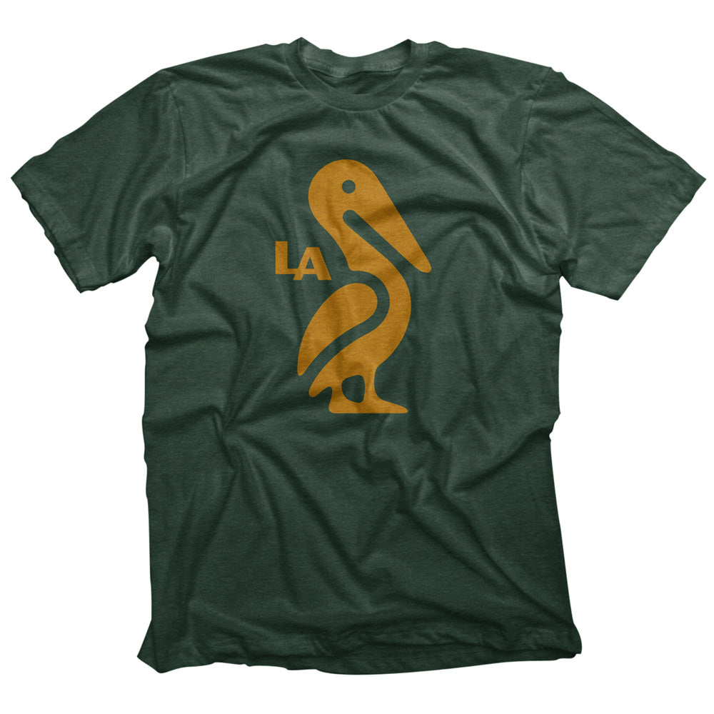 Louisiana Pelican Icon T-shirt