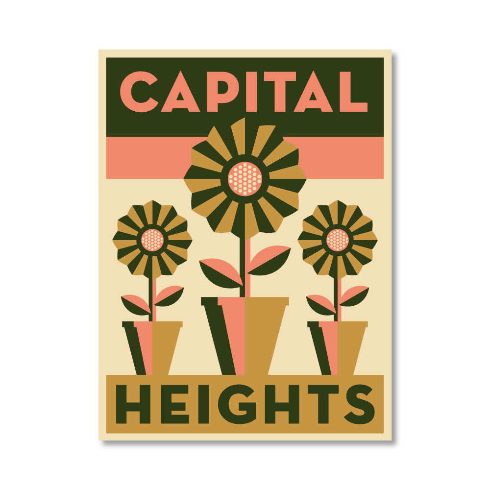 Capital Heights Vinyl Sticker