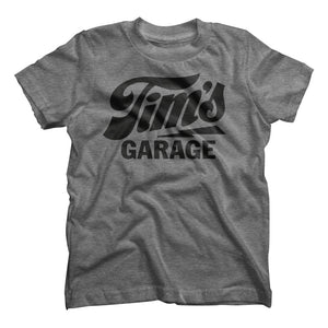 Tim's Garage Logo Kids Tee
