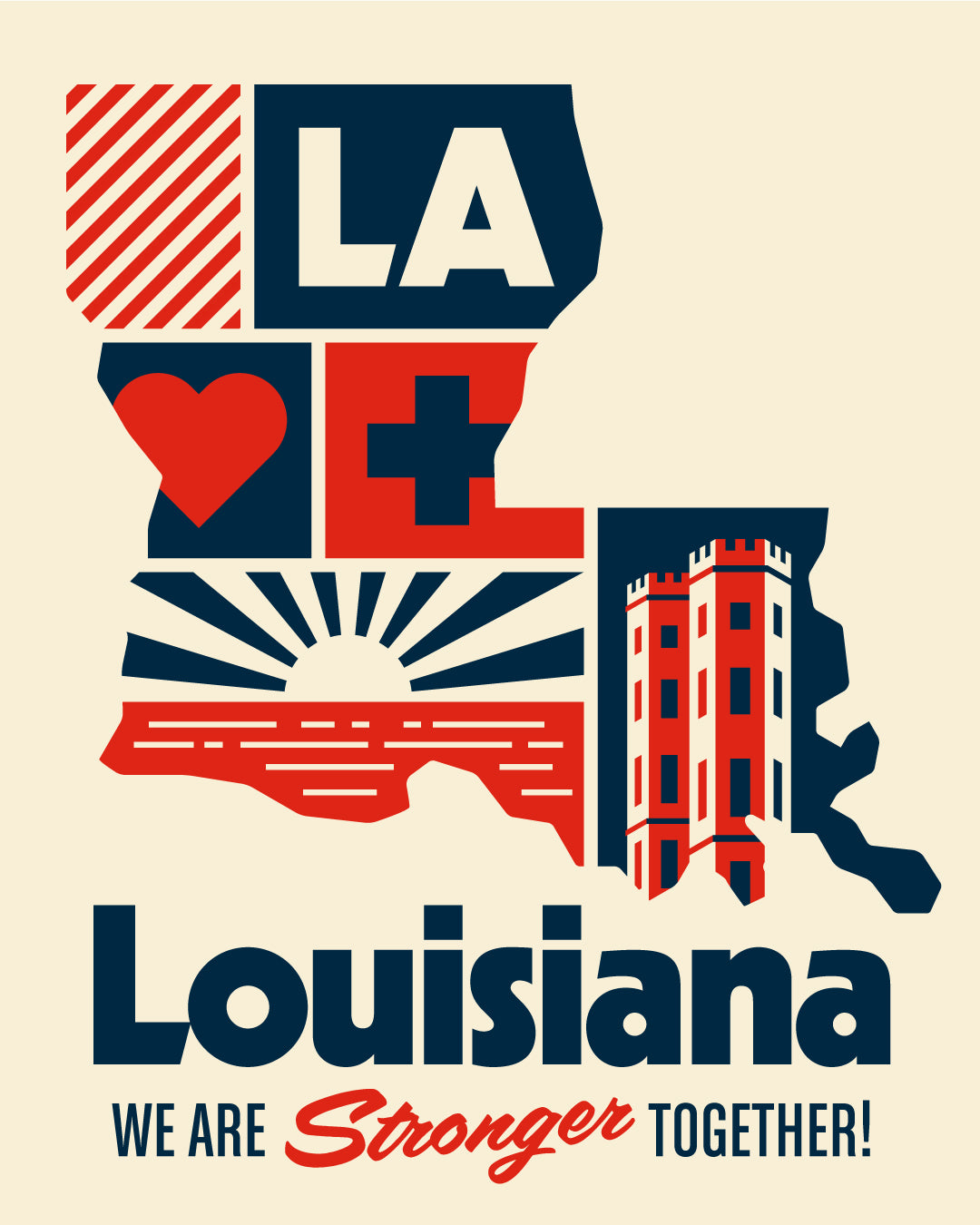 Louisiana Shift Support Poster