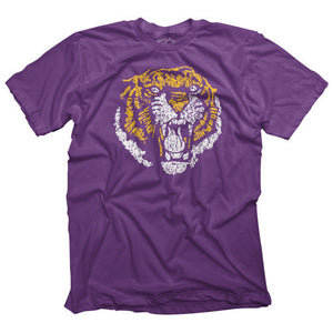 Highland and State Vintage 86 LSU Tiger Shirt