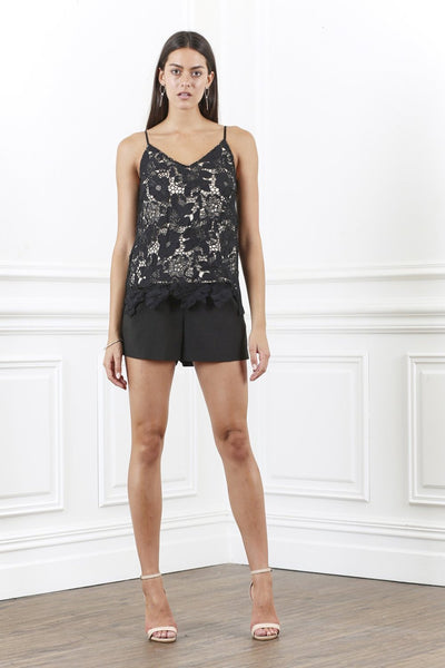 ORNATE FLORAL LACE CAMI