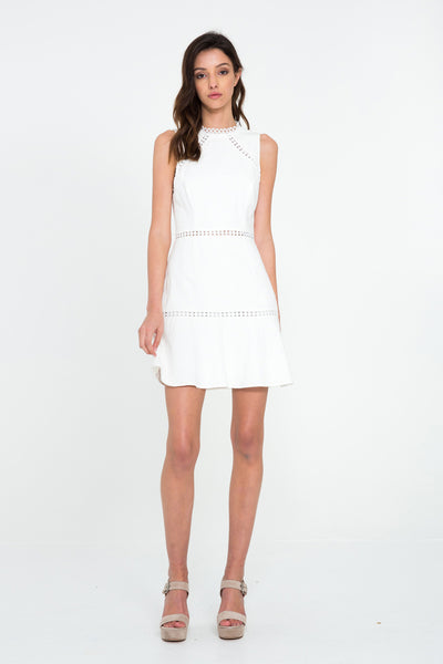 PLAY LACE TRIM DRESS