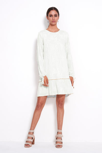 PLAY EMBELLISHED L/S DRESS