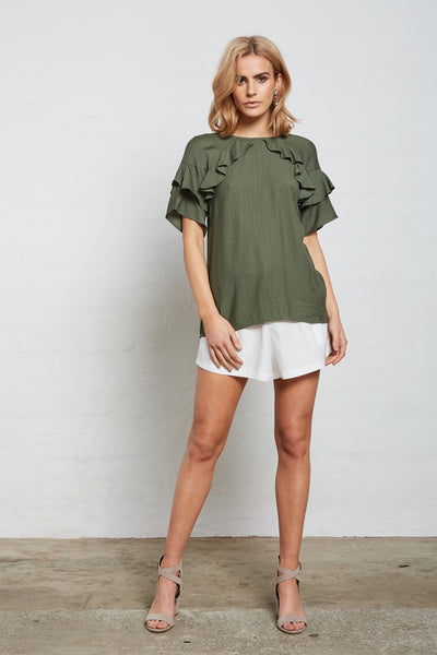 SUPERIOR FRILL TOP
