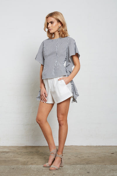 SUPERIOR STRIPE WATERFALL TOP