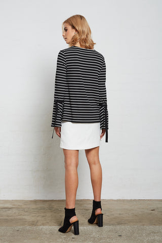 SUPERIOR STRIPE TOP
