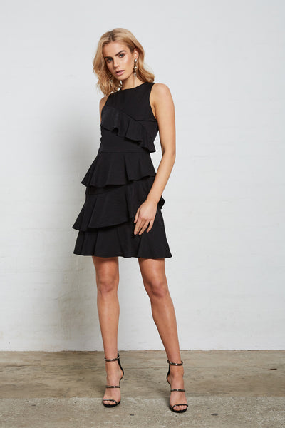 SUPERIOR RUFFLE DRESS