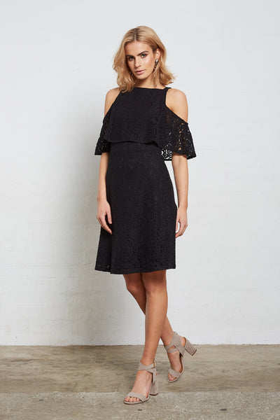 SUPERIOR LACE COLD/SH DRESS