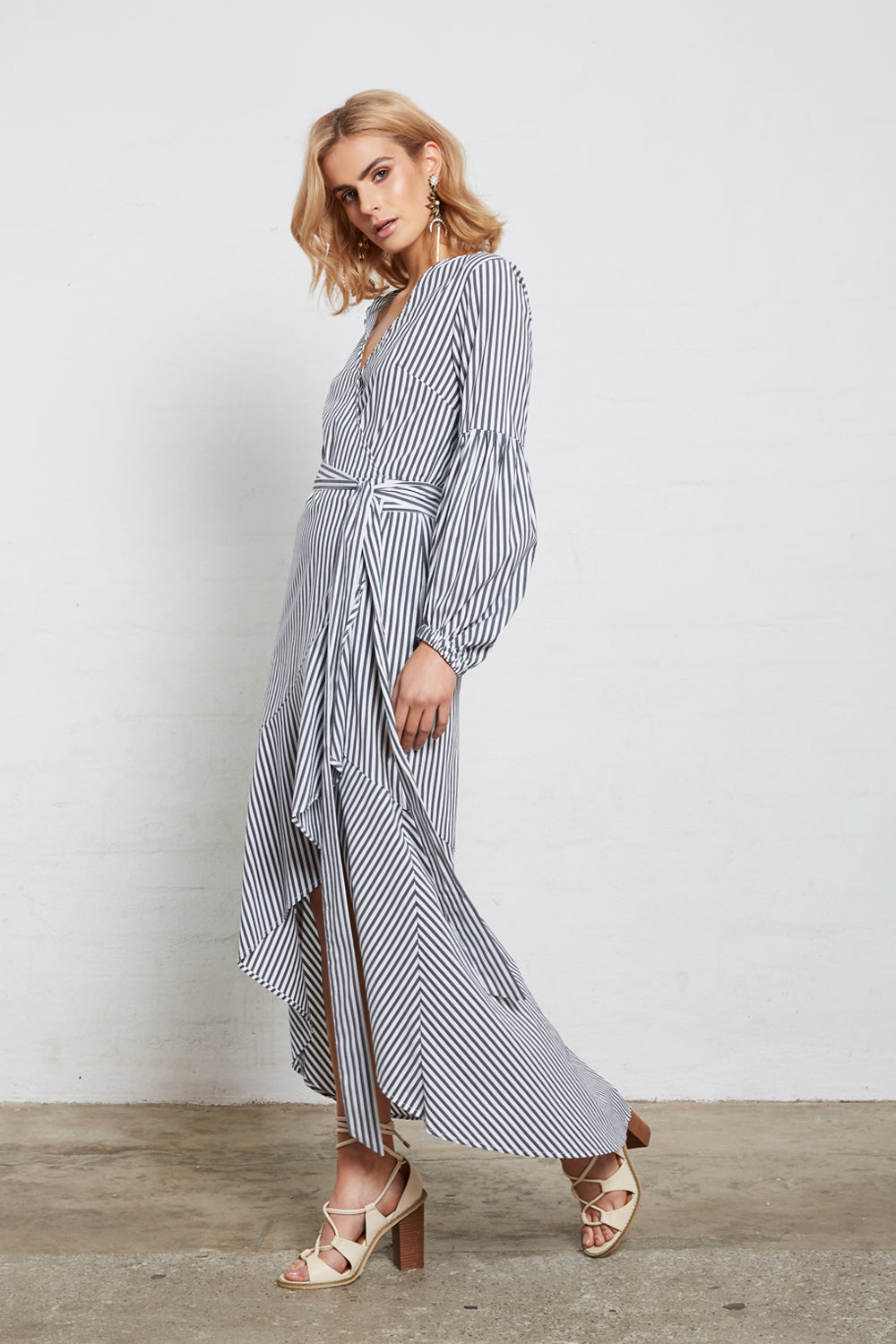 SUPERIOR STRIPE DRESS
