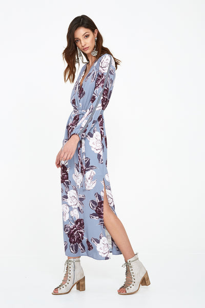 SEEKER FLORAL LONG DRESS
