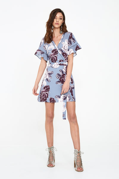 SEEKER FLORAL MINI DRESS