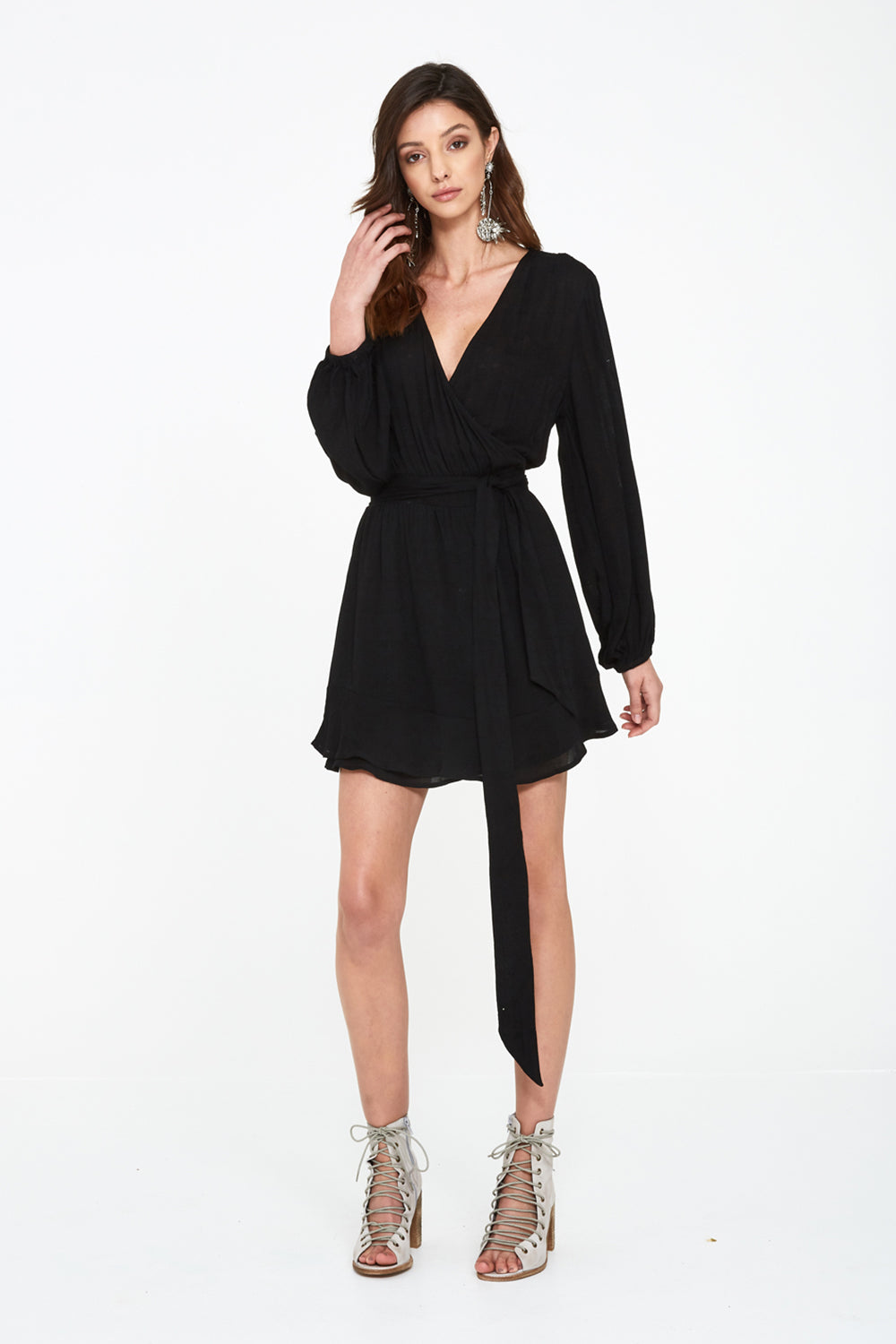 SEEKER WRAP DRESS