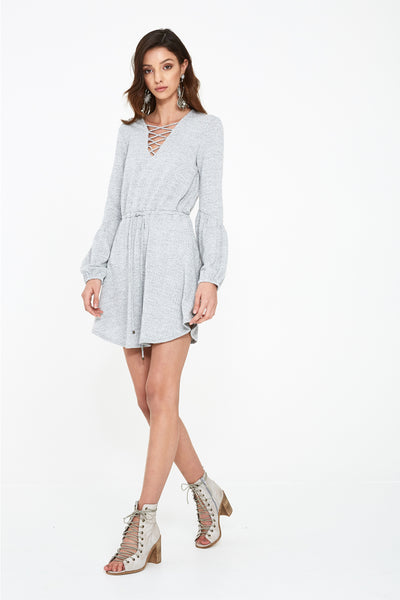 SEEKER MARL MINI DRESS
