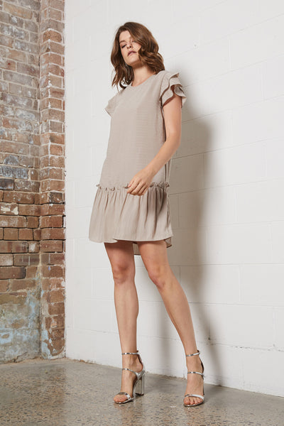 DELICATE DOUBLE SLV DRESS