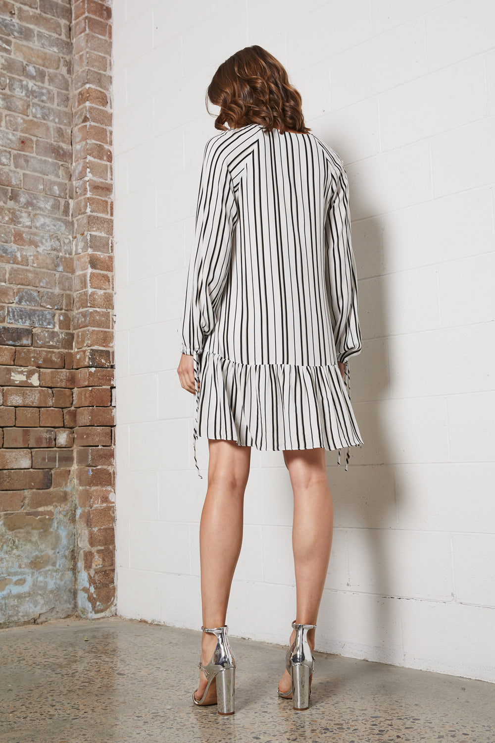 DREAMER STRIPE L/S DRESS