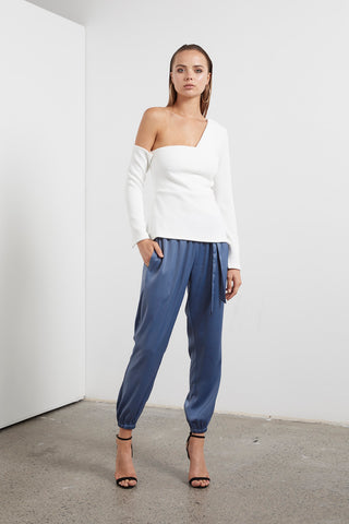ETHEREAL ONE SHOULDER TOP