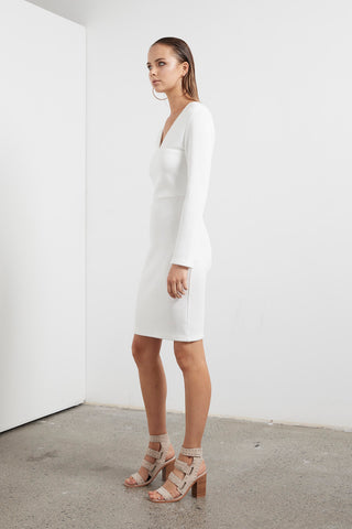 ETHEREAL L/S BODYCON DRESS