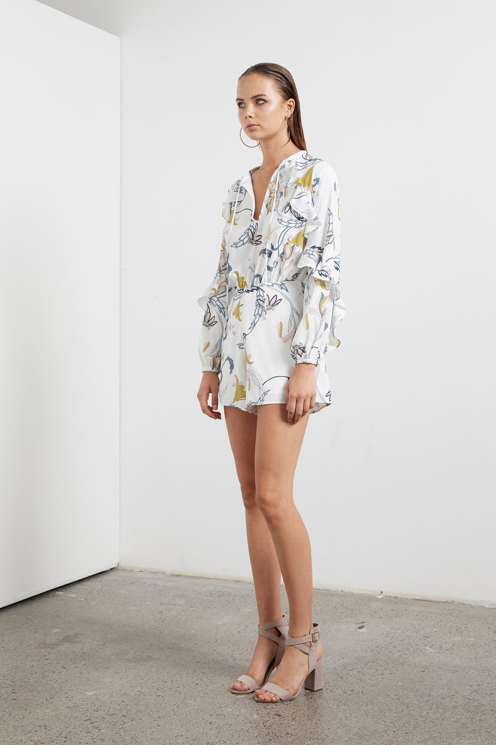 ETHEREAL FLORA ROMPER