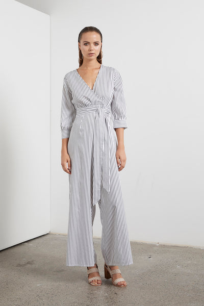ETHEREAL STRIPE JUMPSUIT