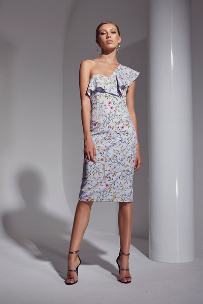 ALLURE FLORAL ONE/SH DRESS