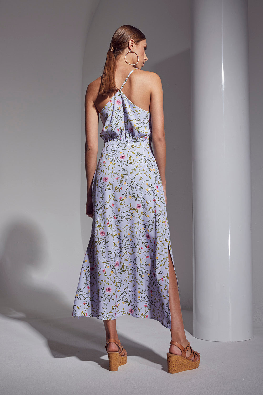ALLURE FLORAL LONG DRESS