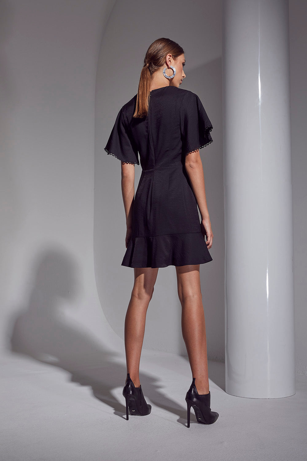 ALLURE WING SLV DRESS