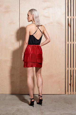 ILLUME PLEAT SKIRT