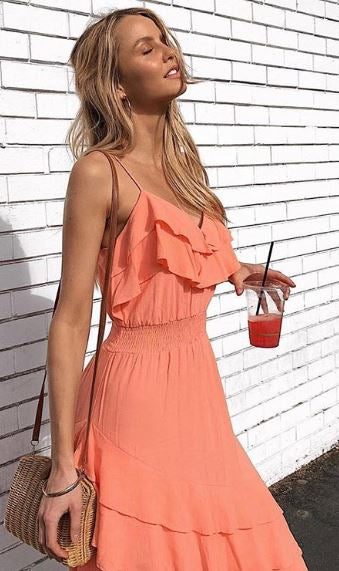 ILLUME LAYERED CAMI DRESS